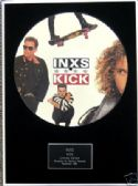 "INXS - Framed 12"" Picture Disc - KICK"
